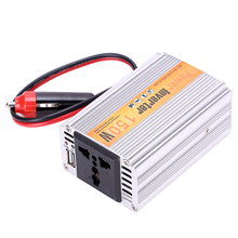 150W Portable Car Power Inverter Adapater Charger Converter Transformer DC 12V to AC 220V Free Shipping(China)