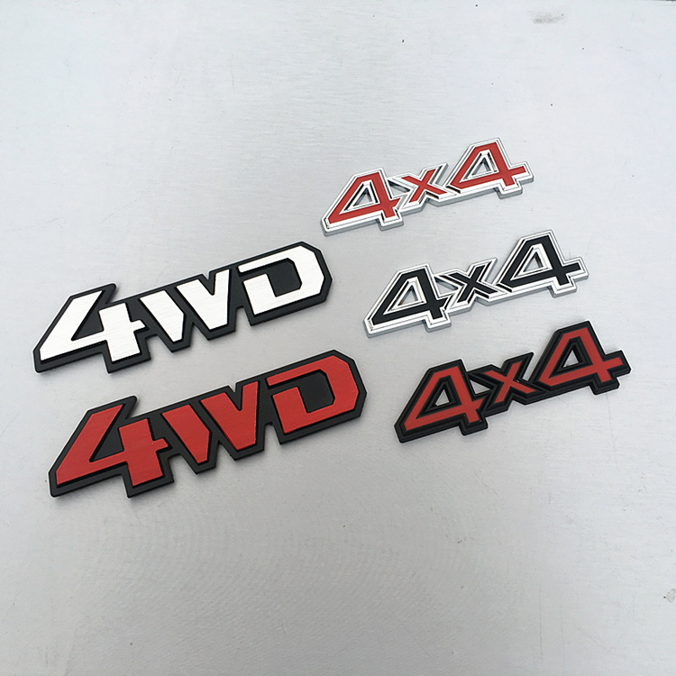 METAL 3D PLATE EMBLEM DECAL LOGO TRIM BADGE POLISHED BLACK 2500 LETTERING TEXT