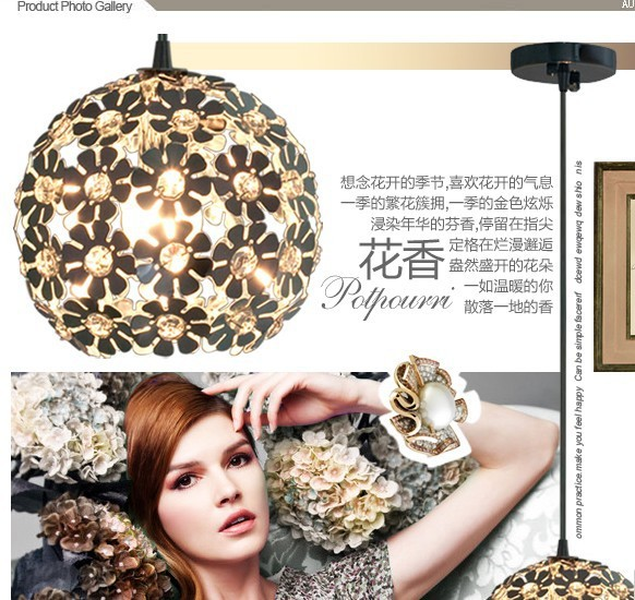 Crystal Pendant Lights contracted and contemporar ining-room lamp bar bedroom lamp lighting dining lamp<br><br>Aliexpress