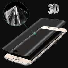 Buy 3D Curved Soft Protective Film Samsung galaxy s8 s8 plus s7 s6 edge plus screen protector Glass Film Samsung S6 S7 edge for $1.12 in AliExpress store