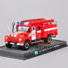 FreeShipping 1:57 Scale Fire Truck Models 1964 ZiL 130-431410 Kazakhstan Diecast Car Vehicles Collection For Baby Gifts