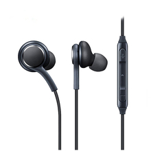 3.5mm Earphones Stereo Headset Handsfree Music Sport White Earbuds Mic IPhone Xiaomi Samsung Galaxy S8 MP3 PK S4 Hpone