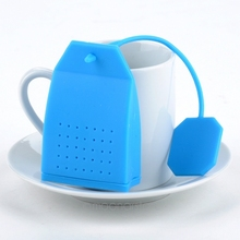 High quality Silicone Bag Design Loose Tea Leaf Strainer Herbal Spice Infuser Filter Tools New(China)