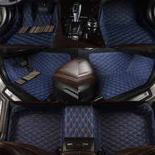 car Ottomans surrounded special floor carpets for Grand Cherokee Dodge Reiz no odor waterproof rugs(China)