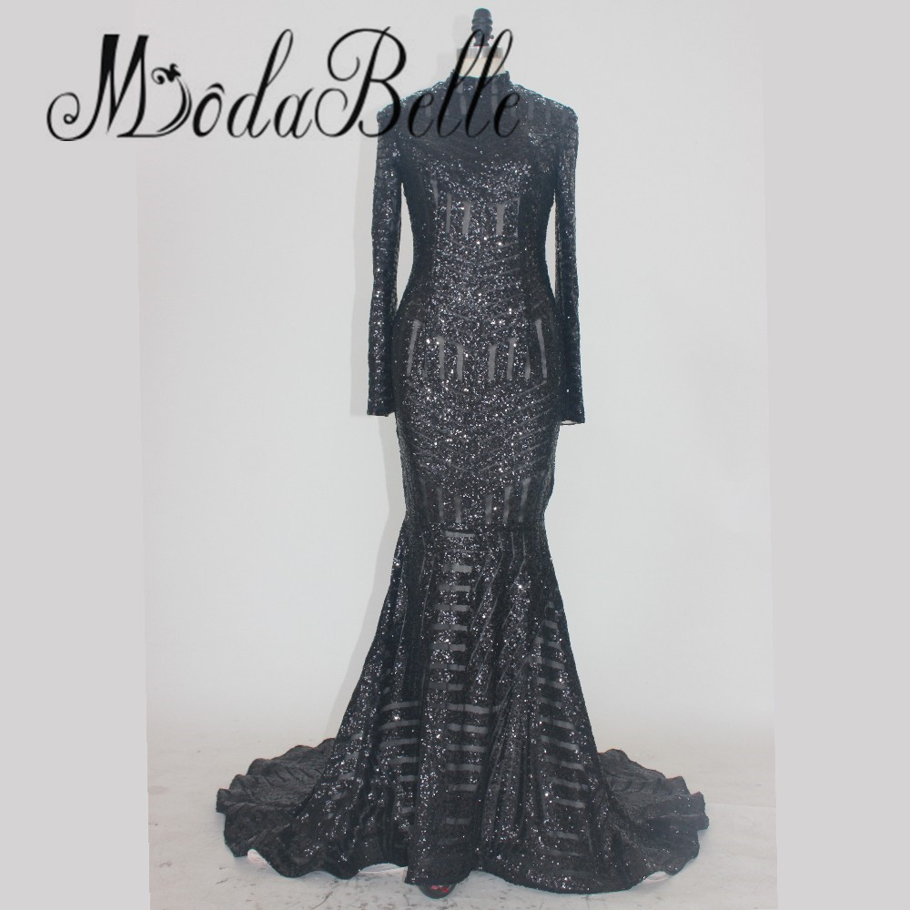 Compare Prices on Black Evening Gown with Long Sleeves- Online ...