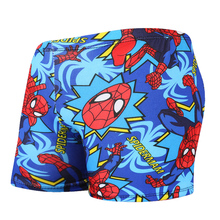 Boys kids Beach Board Shorts Boy Spiderman Swimwear Kids Surfing Swimsuit Swim Boardshorts Children Beach Trunks 7-12 Yrs Old