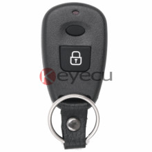 High Quality Replacement Remote Key Control Fob 2 Button 433MHz For Hyundai Santa Fe Elantra