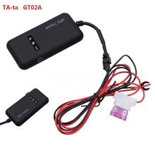 Mini GPS tracker GT02A Tracking GSM GPRS SMS Locator Global Real Time for Car Auto Vehicle Motorcycle