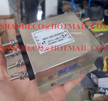 EMI power filter 380V 30A 3 phase 4 wire Connector