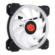 Silent Computer LED CPU Cooler 120mm RGB Adjustable CPU Cooling Fan Cooling Fans Radiator Heatsink Controller Remote For PC