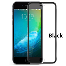 Titanium Alloy Metal Frame screen protector Tempered Glass Film guard Screen defender border saver For iPhone 7 plus 6 6s