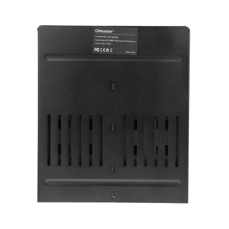 "2.5/"" Internal Enclosure SATA Hard Drive HDD SSD Frame Mobile Rack Bay Station"