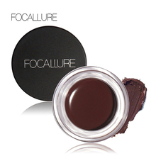 FOCALLURE Eye Gel Waterproof Gel Eyeliner New Makeup Black Long Lasting Liquid Gel Eyeliner Nice Delineador Em Gel To Women