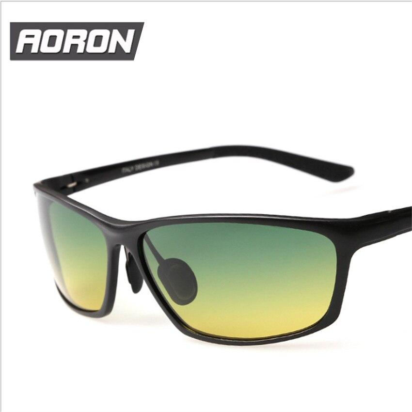 Aluminum Magnesium Polarized  Driving UV400  Day Night Vision Goggles Mens Driver Sunglasses  Male Sports sun-glasses<br><br>Aliexpress
