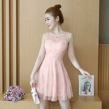 Dress Achetez Des Promotion Pink Beige PZilwkuOXT