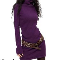 New Women's Autumn Winter Cashmere Sweater Slim Turtleneck Long Sleeved Pullovers Tops Ladies Medium Long Solid Basics Sweater(China)