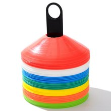 50pcs football training equipment Football Soccer Rugby Speed Training Disc Space Marker Cone