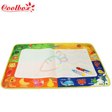 Children Aqua Doodle big size 73.5x49cm Drawing Toys 1 Painting Mat + 2 Water Drawing Pen Child's drawing board/drawing mat