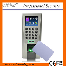 Popular F18/IC biometric access control tcp/ip communication fingerprint time attendance device