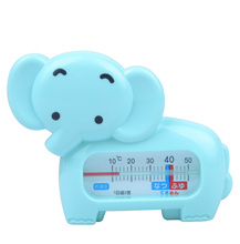 Bath Baby Toy 2016 New Baby Cartoon Elephant Bath Measure Water Thermometers Meter Digital Thermometer Dual Purpose Baby Toys