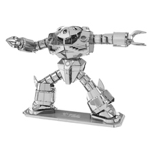 [QuanPaPa] New Gundam Metal 3D DIY Stainless Steel Scale Miniature Model Kit Hobbies Building Toy Adult