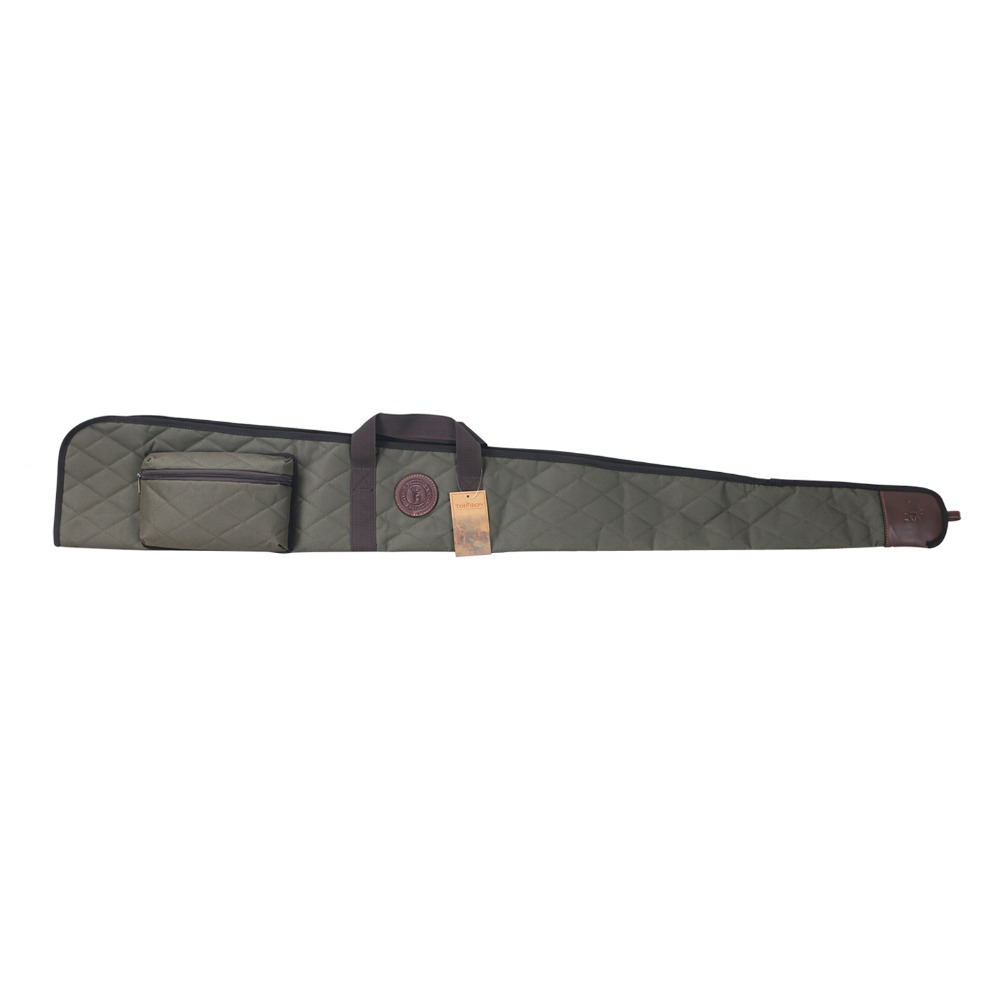 Tourbon Tactical Shotgun Slip Nylon Bag Soft Padded Carrying Gun Case for Hunting 138cm with Ammo Cartridges Pouches <br>
