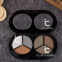 Makeup 6 Colors Eye Shadow Palette Shimmer Natural Eyeshadow Cake Neutral Warm