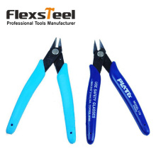 "1 Pieces Jewelry Electrical 5"" Micro Soft Shear Cutting Side Flush Cutter Wire Cable Cutter 2.5mm Hardened Carbon Steel"