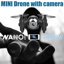 Original Mini RC Drone with HD Camera One Key Return Remote Control Wifi Real-Time Helicopter Hold Altitude Micro Quadcopter Toy(China)