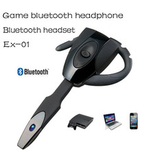 GIOTECK EX01 Wireless Bluetooth Headphone for PS3 Handsfree Mono earphones Long Standby Gaming Bluetooth Headset With Microphone(China)