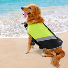 Pet Dog Life Jacket Safety Clothes Nylon Breathable Dog Swimwear Pet Clothes Supplies Life Vest  For Large Dogs S-XL