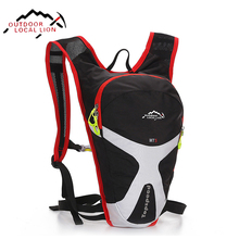 LOCAL LION Lightweight Bicycle Backpack Hydration Rucksacks Cycling Bag Backpacks Riding Running Sport Brand Bicycle Backpack 5L(China)