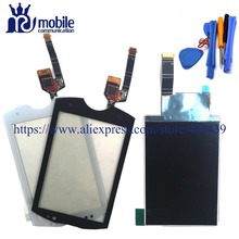 New Wt19 LCD Touch Screen For Sony Ericsson Live with Walkman wt19i wt19 Display Touch Panel Digitizer With tools