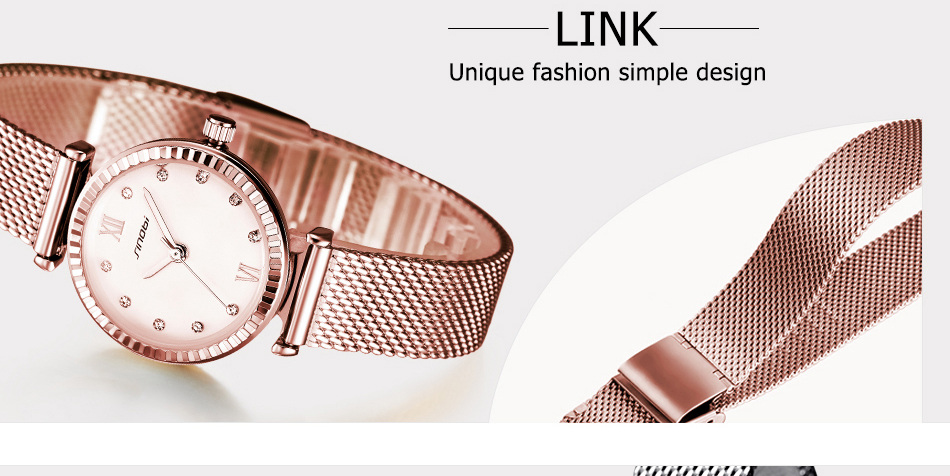 SINOBI  Women Watches Brand Luxury Diamond Gold Watch Ladies Quartz Wristwatch Women Clock Relogio Feminino Relojes Mujer 2017