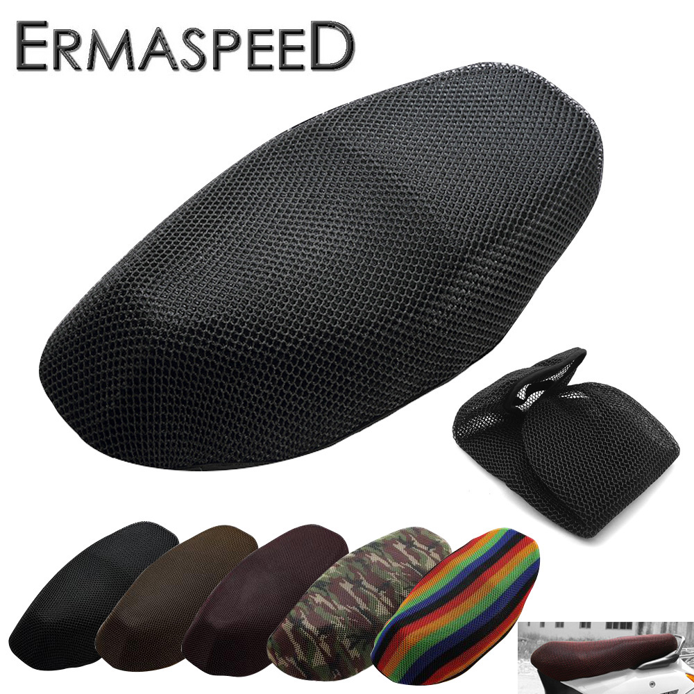 Scooter-Accessory Motorcycle-Seat-Cover Heat-Shield Motorbike Honda Waterproof Cooling title=