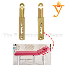 4 gears Furniture Sofa Bed Hinge / Beauty Bed Accessories / Massages bed mechanism D37(China)