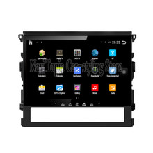 NaviTopia Brand New 10.1inch Quad Core Android 6.0 Car PC For Toyota Cruiser 2016 Car Audio Player With GPS Navigation