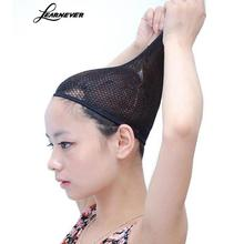 Hairnets good Quality Mesh Weaving Black Wig Hair Net Making Caps, Weaving Wig Cap & Hairnets M02810