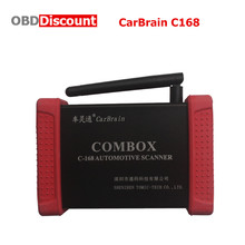 Bluetooth CarBrain C168 Scanner Auto Diangnostic Interface CarBrain C168 Automotive Fault Diagnostic Scanner Update By Email(China)