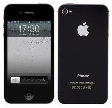 Hot Selling Original Unlocked Apple iPhone 4S Dual Core 8/16/32GB ROM 8MP 3.5``WCDMA WIFI GPS IOS Smartphone Free Shipping