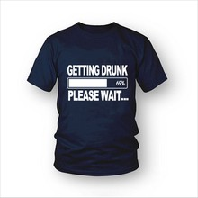 Getting Drunk Beer Stag Party Gift Funny Mens T Shirt More Size and Colors