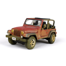 Maisto alloy car model 1:27 Jeep Wrangler Rubicon simulation model Collection Lovers Diecast Toys Gifts for children