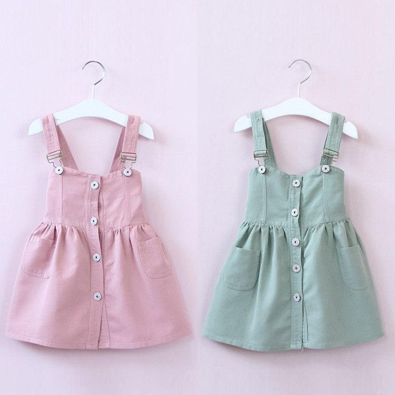 Baby color suspenders  spring 2017 Korean version of the new girls kids children fold  qz-4109<br><br>Aliexpress