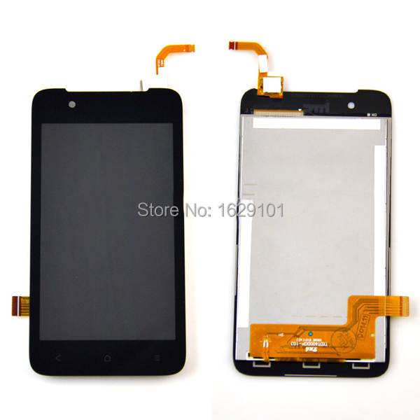 100% Warranty Full LCD Display Touch Screen Digitzer Assembly For HTC Desire 210 Replacement Black Color free shipping<br><br>Aliexpress