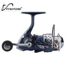 Spinning Fishing Reels, High Performance Front Drag System, Stainless Steel 9+1 BB; CNC Alloy Body/Handle; Soft Knob(China)