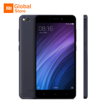 Global Version Xiaomi Redmi 4A Mobile Phone Snapdragon 425 Quad Core 2GB RAM 16GB ROM Original International Edition CE Grey(China)