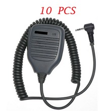 YIDATON 10PCS 1Pin 2.5mm Speaker Microphone for Motorola Talkabout Radio for T6200  Cobra Radio