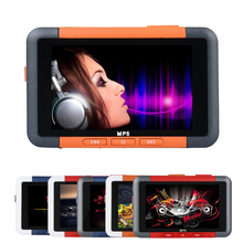 New MP5 Player 3'' Slim LCD Screen Music Video Player Recorder recorder E-book reader FM Radio MP3 MP4 Player 8GB Music Player(China)