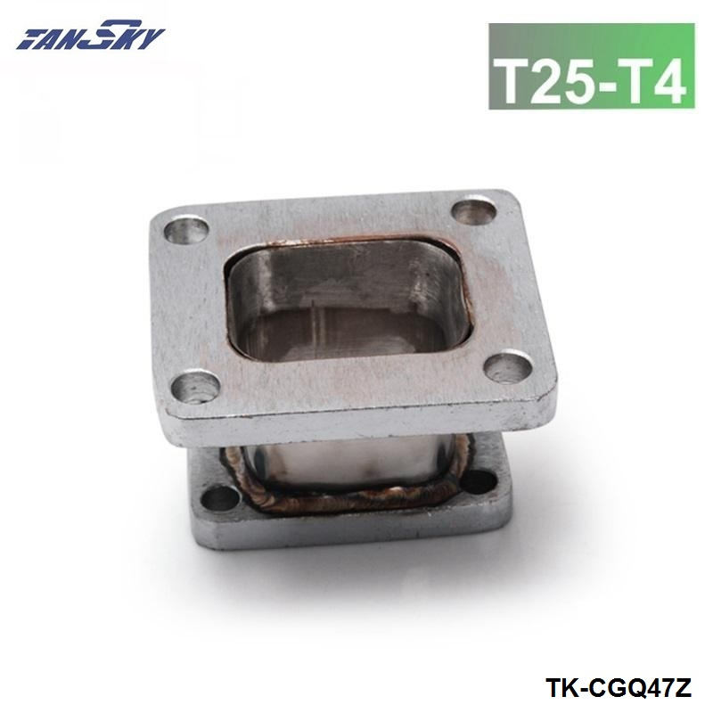 TANSKY -T25 TO T4 Turbo Flange Adapter  For Turbocharge GT25 GT28 GT2876R GT3076R TK-CGQ47Z