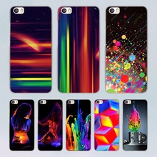 Cute Colourful element  design clear hard Case for Xiaomi redmi note 4 3 4Pro 4A 4X Mi 5 5s Plus 4 4C